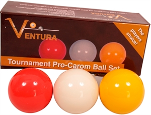 Ventura Tournament Pro-caramboleballer 61.5mm