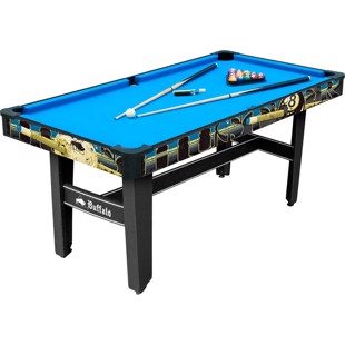 Buffalo Hustler Rookie Pool Table 5ft