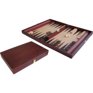 Backgammon Case Wood 35x24cm Inlayed