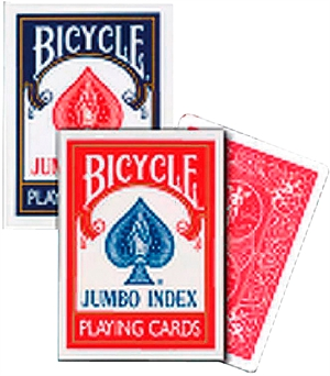 Bycicle Poker spillekort Single