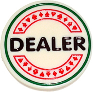 Dealer Button 6cm