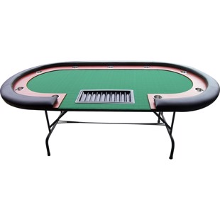 Buffalo pokerbord High Roller 210x105cm Black