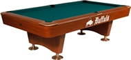 Buffalo Dominator Pool Table 9ft Brown