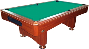 Buffalo Eliminator II Pool Table 8ft Brown