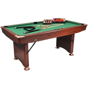 Challenger Poolbord 6ft Brown fra Buffalo