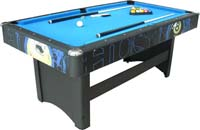 Buffalo Hustler Pool Table 6ft