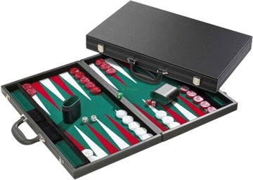 Backgammon Case DeLuxe 46x30cm Inlayed
