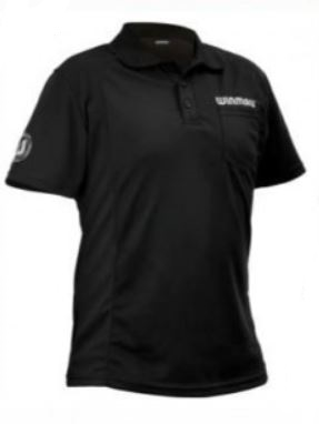Wincool Dart Shirt - sort fra Winmau