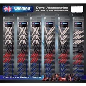 Shaft Card, 60 sets fra Winmau